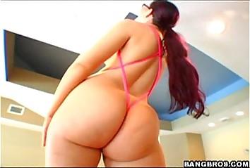 Big ass girl blowjob and fuck