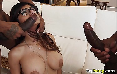 Mia Khalifa Best Of BangBros Hardcore Epic Compilation Video - TryBang.com