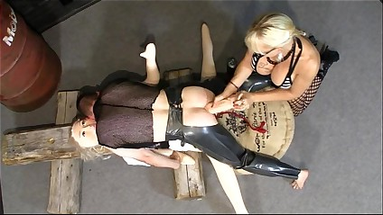 Norwegian MonicaMilf as the dirty pegging nun part2