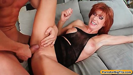 MIlf Thing with Busty Sexy Housewife Getting Fucked 01