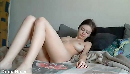 young russian girl homevideo