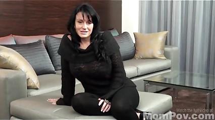 Busty Vegas MILFs first porn