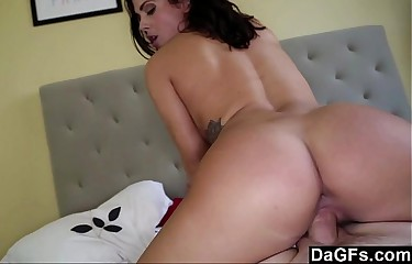 Dagfs - Keisha Grey's Natural Tits Bounce in Sextape