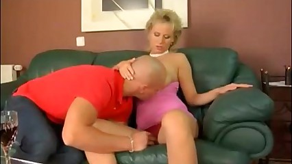Hot blonde MILF with big beautiful natural tits