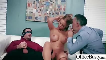 (Nicole Aniston) Busty Horny Slut Office Girl Enjoy Sex movie-20