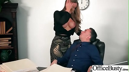 (Nicole Aniston) Naughty Slut Big Tits Girl Get Nailed In Office vid-25