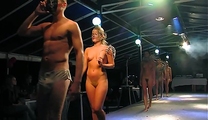 NUDE FASHION SHOW UNCENSORED