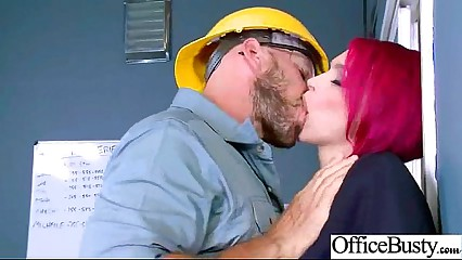Hard Style Sex In Office With Big Round Tits Girl (anna bell peaks) mov-06