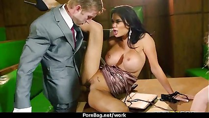 MOM Working MILF fucks her client 5
