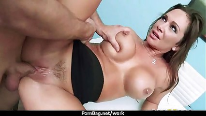 Submissive office busty assistant finally fucks her boss 7