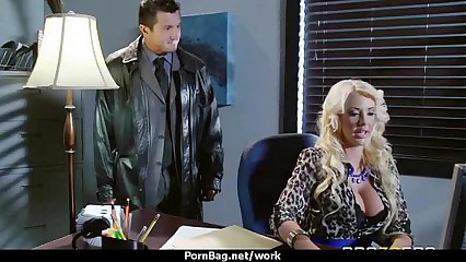 Sexy wild Milf loves rough sex at work 20
