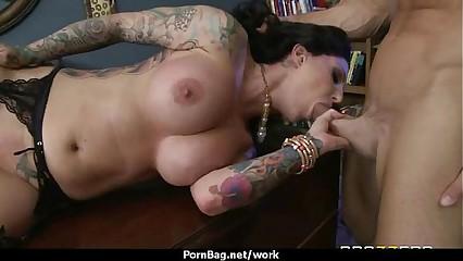 Sexy wild Milf loves rough sex at work 26