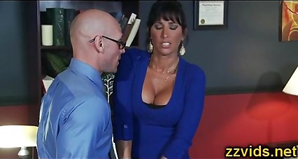Lezley Zen office fuck
