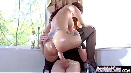 Wild Girl (syren de mer) With Big Oiled Wet Butt Love Anal movie-29