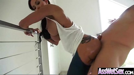 (jewels jade) Huge Sexy Butt Girl Get Oiled And Get Hard Anal Nailed  vid-13
