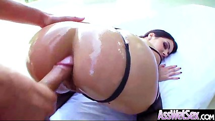 Deep Anal Sex With Big Round Butt Oiled Hot Girl (valentina nappi) video-29