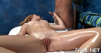 Oiled massage