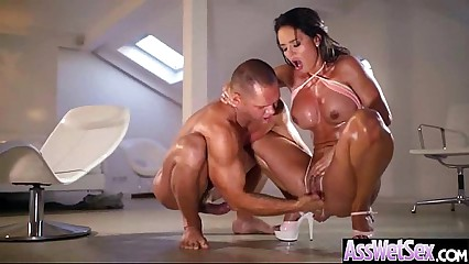 Big Wet Oiled Ass Girl (franceska jaimes) Like Anal Hard Style Bang video-11