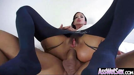 Anal Hardcore Sex With (jewels jade) Girl With Big Oiled Huge Ass clip-16
