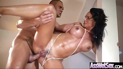 Anal Sex With Big Curvy Oiled Wet Butt Girl (franceska jaimes) vid-13