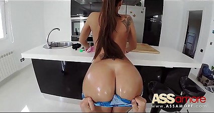 Czech Big Ass Slut Satin Bloom