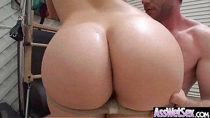 Anal Bang On Cam With Big Ass Oiled Girl (london keyes) movie-19