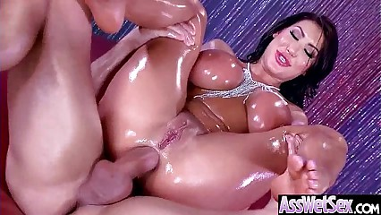 Gorgeous Girl (August Taylor) With Big Oiled Huge Ass Like Anal Hard Bang mov-14