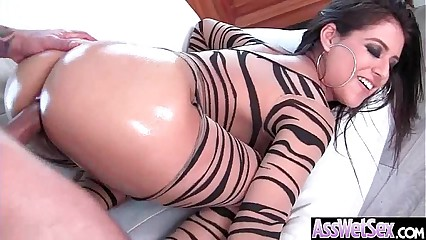 (Jynx Maze) Huge Butt Oiled Girl Enjoy Anal Hardcore Intercorse clip-17