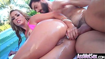 Gorgeous Girl (Kelsi Monroe) With Big Oiled Huge Ass Like Anal Hard Bang mov-30