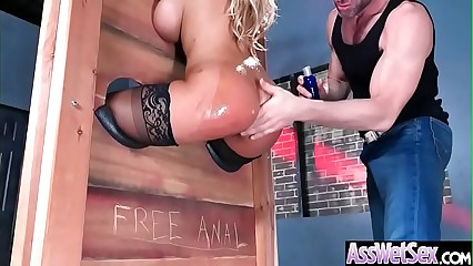 Deep Hard Anal Sex With Big Butt Oiled Girl (Bridgette B) mov-11