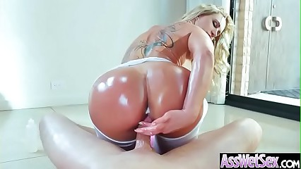 Big Butt Oiled Girl (Ryan Conner) Love Hard Anal Sex mov-29