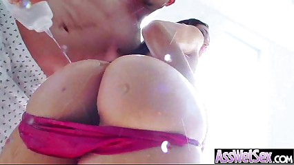 Oiled Big Butt Girl (vicki chase) Love And Enjoy Deep Anal Sex clip-30