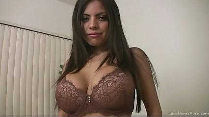 Busty broad screams when she reaches an orgasm