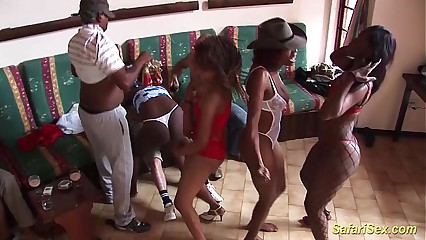 african groupsex party orgy