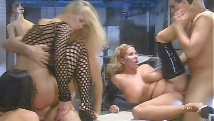 Surreal orgy from the movie