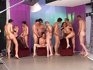 Wonderful Italian Orgy!!!