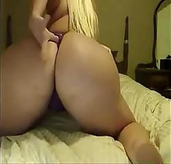 Pawg solo masturbation