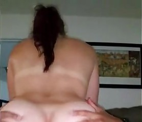 White Woman Rides & Squirts On BBC