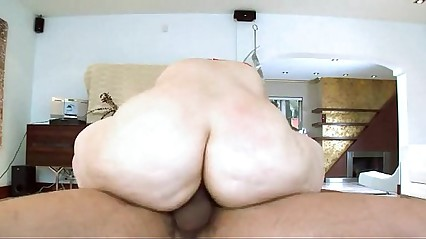 Hot ass brunette gets slammed