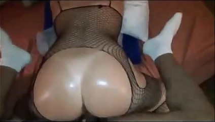 Round butt wife interracial