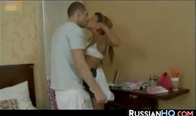 Petite Russian Schoolgirl