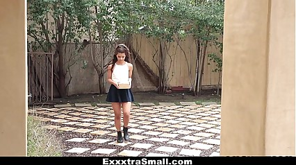 ExxxtraSmall - Sexy Petite Latina Fucks Neighbor