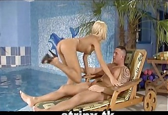 new vife doing great sex in swiming pool hardcore sex blowjob big tits hotty girl lolita