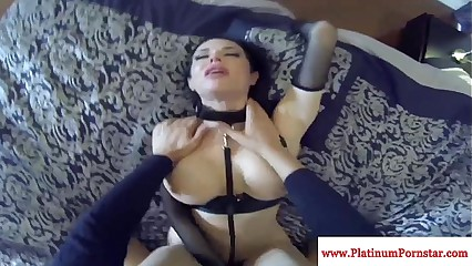Veronica Avluv fucks and sucks pov