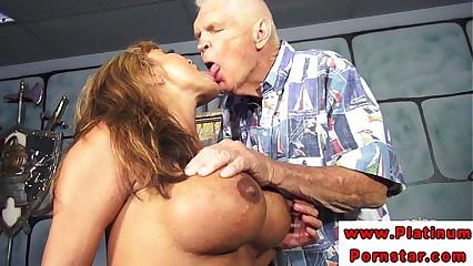 Ava Devine in mmf threeway fucked