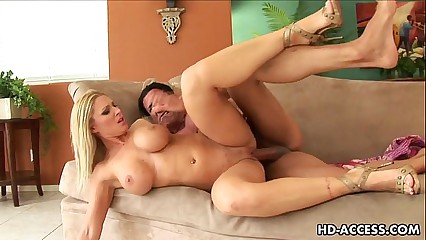 Busty blonde big tit slut Devon Lee hardcore