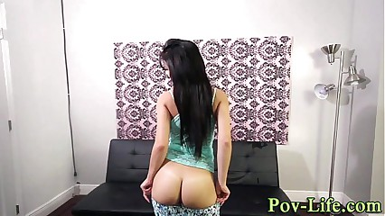 Teen fucked by bbc in pov
