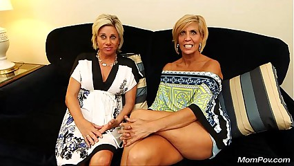 Two MILFs fuck mompov dude