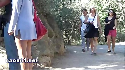 public park blowjob for Naomi