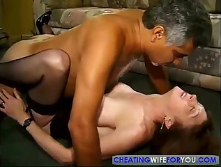 Redhead Mature Loves to Fuck in the Office